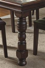 Turned Table Leg