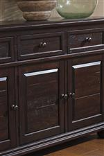 Framed Drawer Fronts and Raised Panels on Server