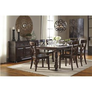 Signature Design by Ashley Gerlane Casual Dining Room Group