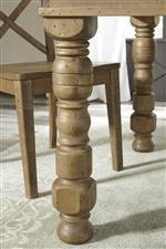 Turned Table Leg
