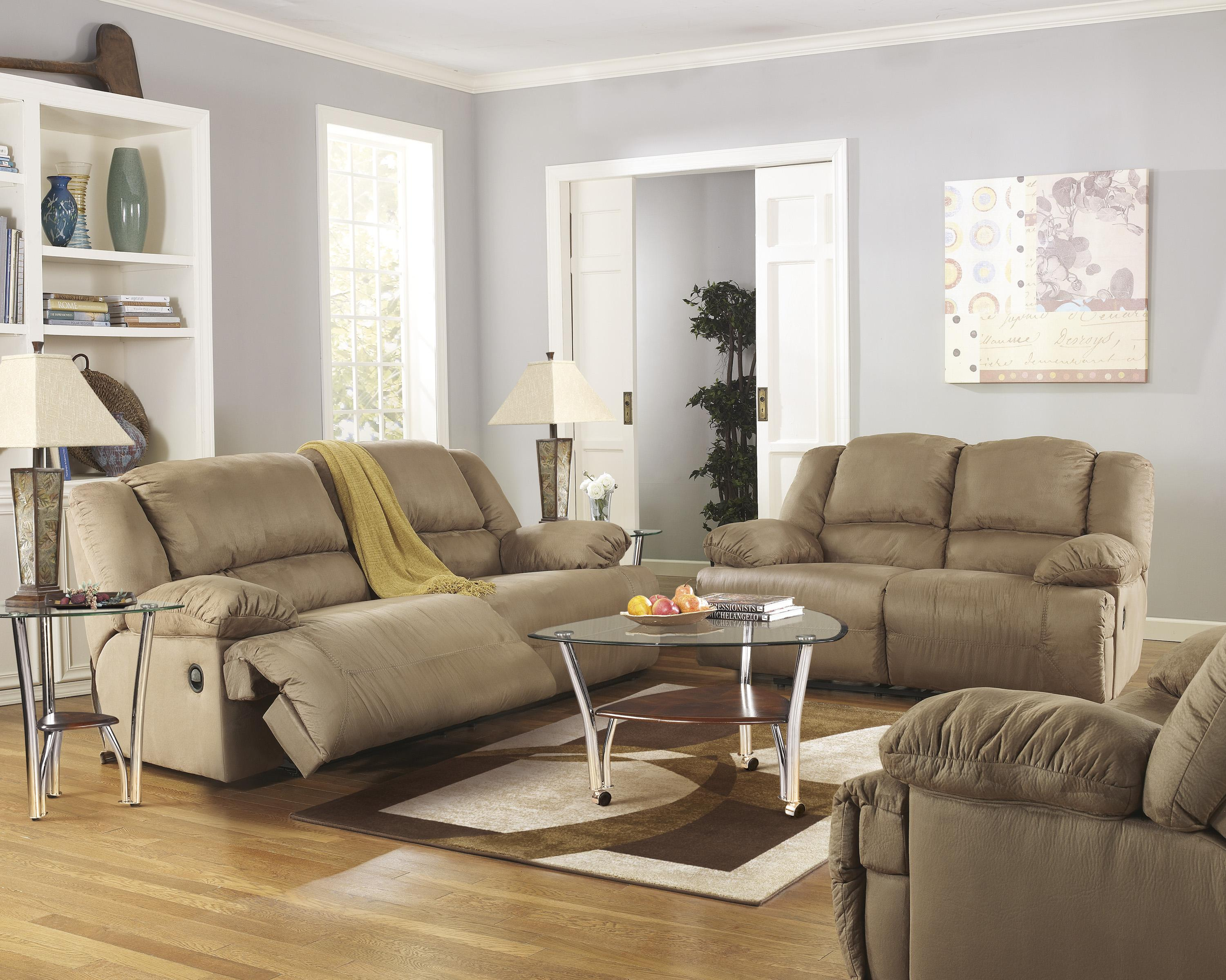 Signature Design by Ashley Hogan Mocha 5 Piece Motion Sectional