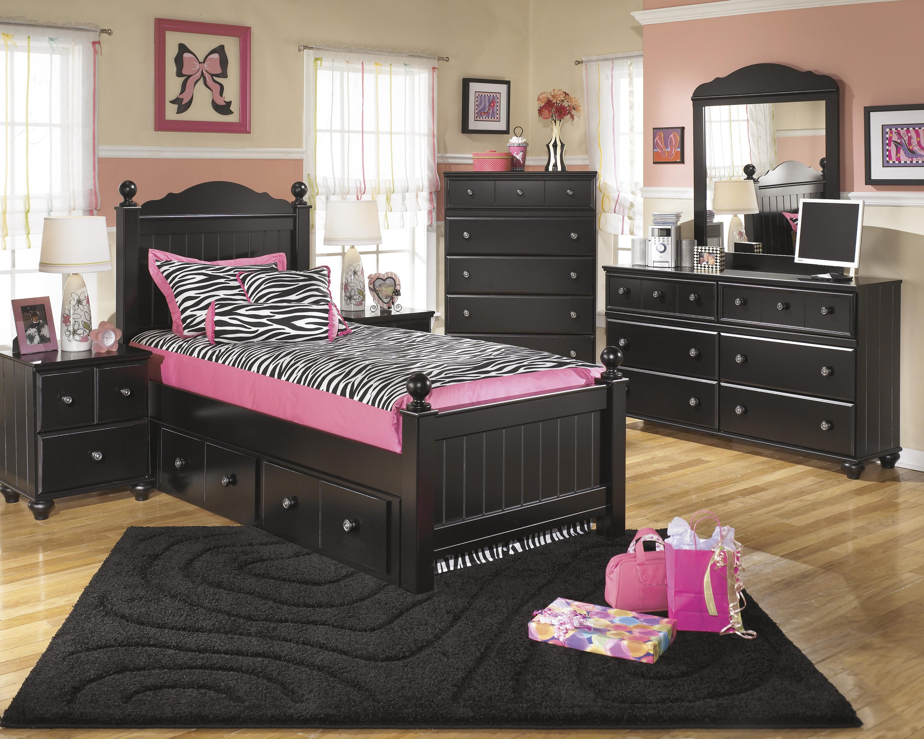 Signature Design by Ashley Jaidyn Twin Bedroom Group - Item Number: B150 T Bedroom Group 3
