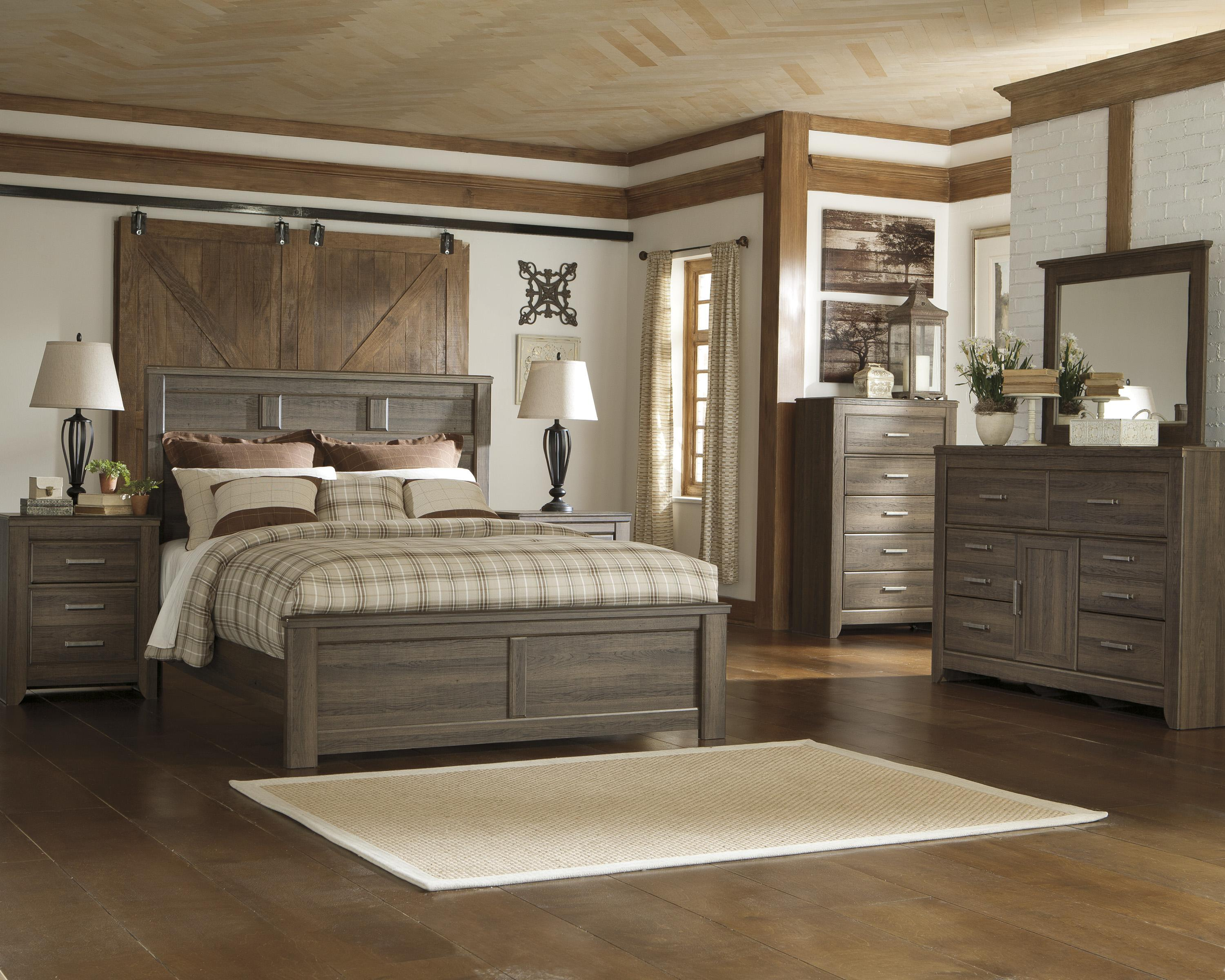 Great Ashley King Size Bedroom Sets Decoration