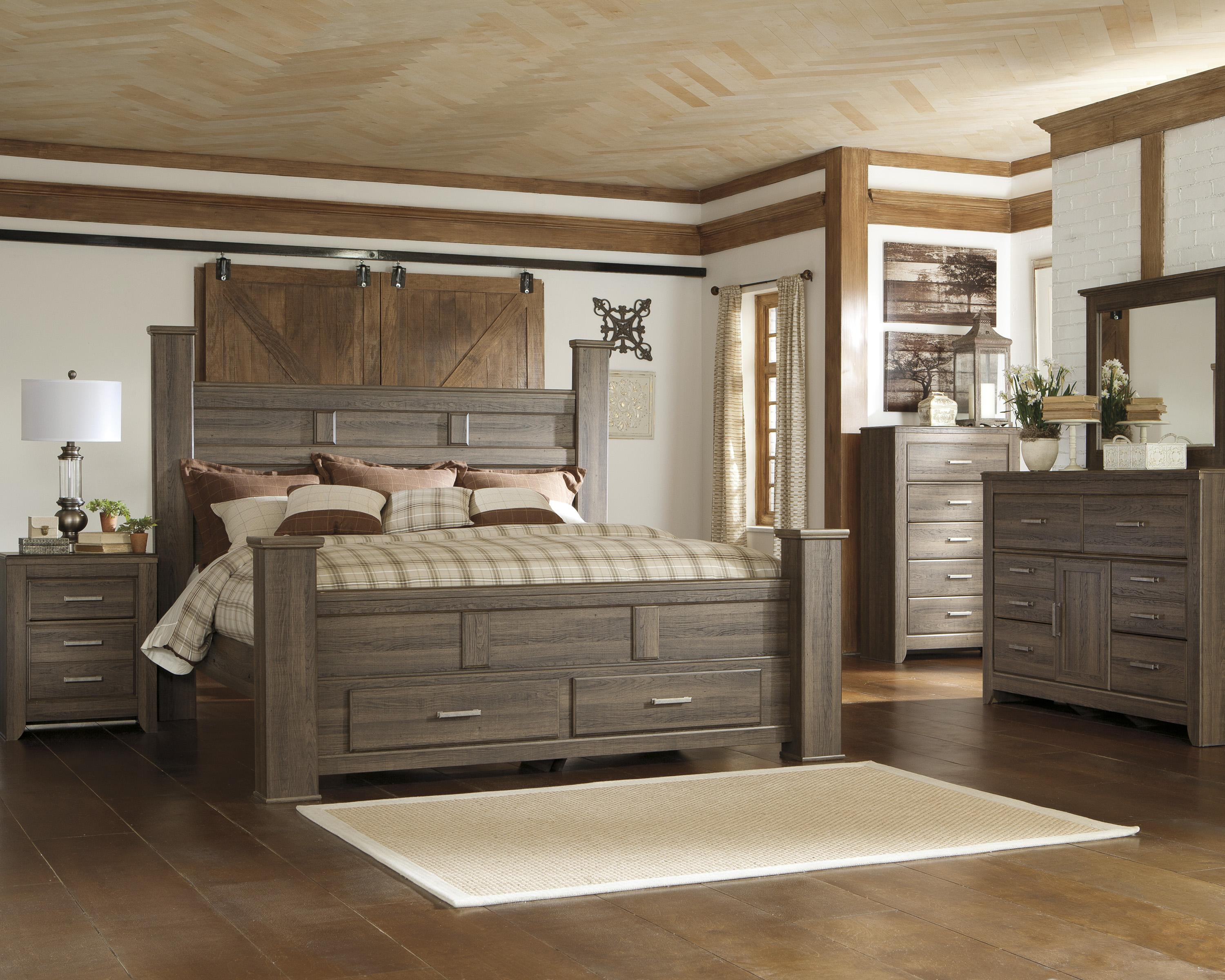 Signature Design By Ashley Juararo Queen Bedroom Group Lindy S