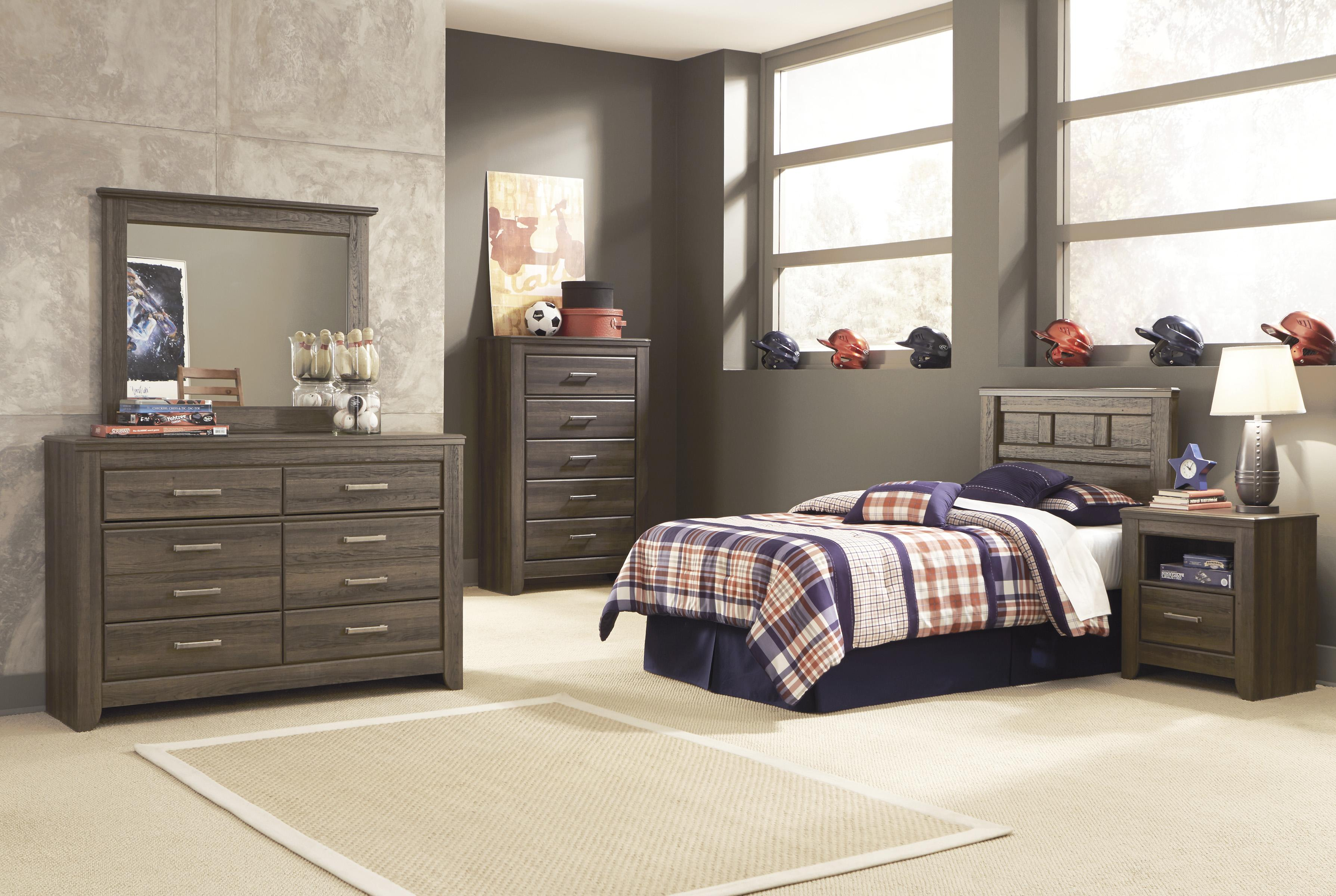 Signature Design by Ashley Juararo Twin Bedroom Group - Item Number: B251 T Bedroom Group 3