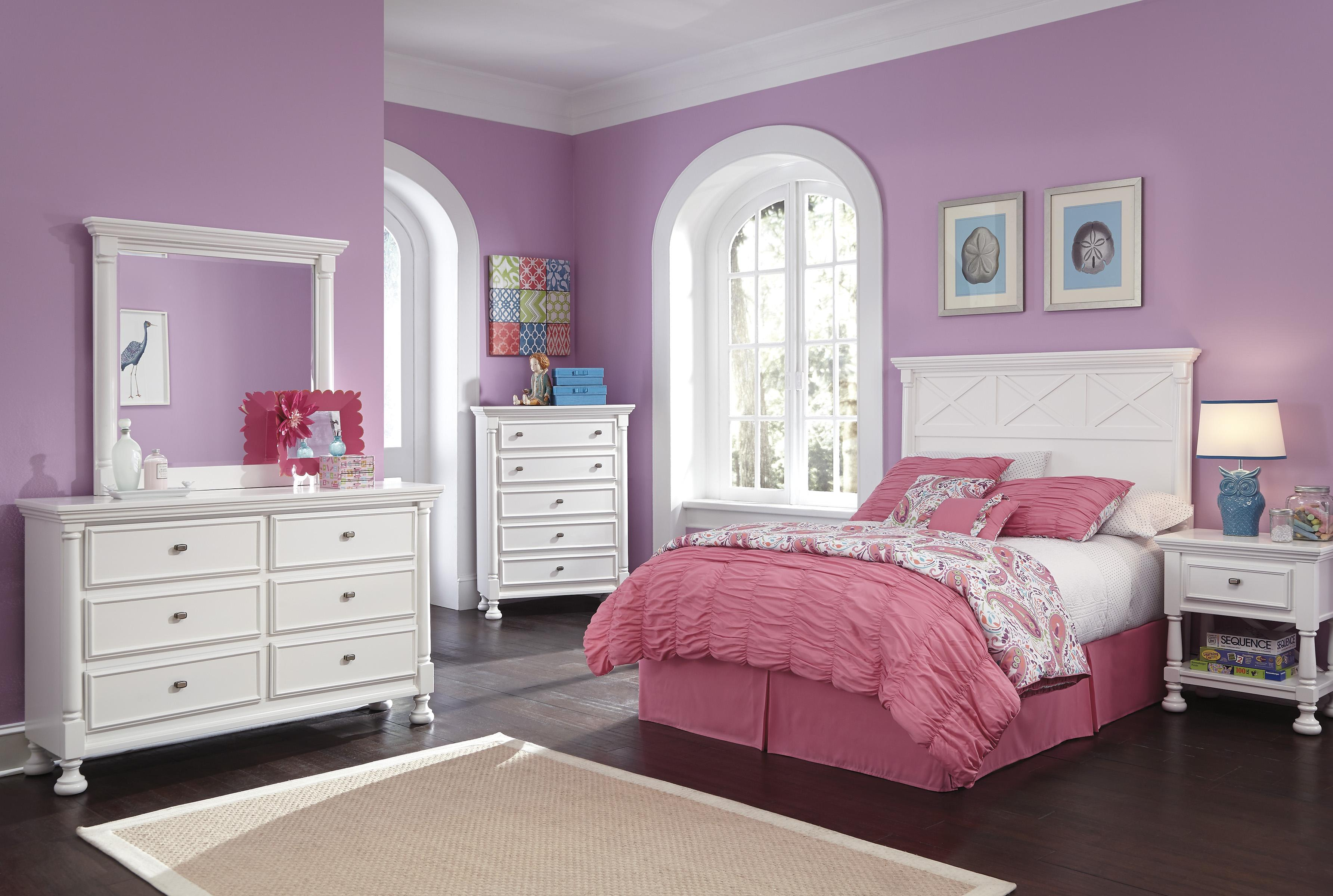 Kaslyn Full Bedroom Group by Ashley (Signature Design) at Johnny Janosik