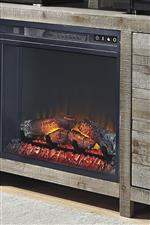 Optional Media Electric Fireplace Insert