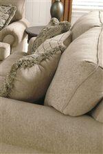 Plush Cushions with Welt Trim