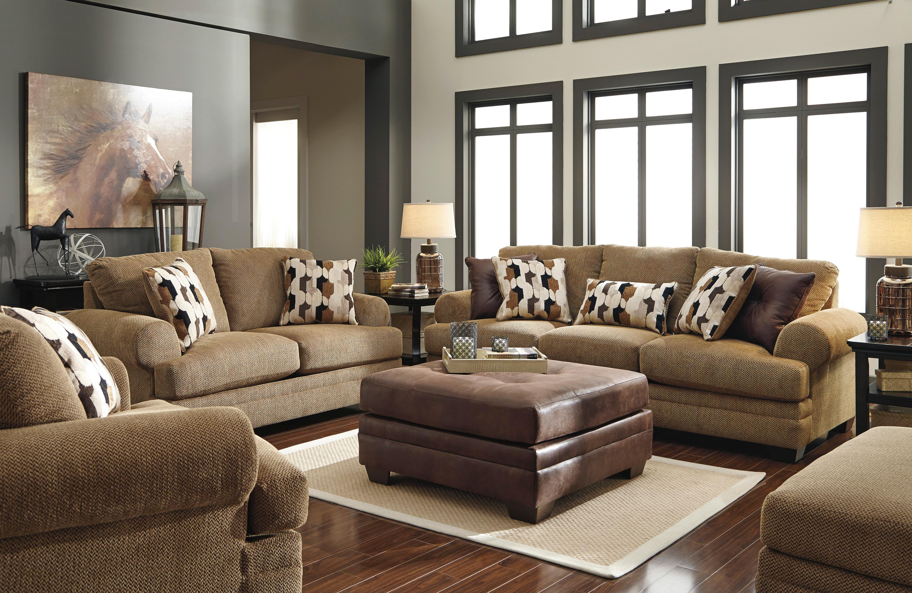 Signature Design by Ashley Kelemen - Amber Stationary Living Room Group - Item Number: 47100 Living Room Group 6