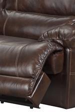 Power recliner footrest