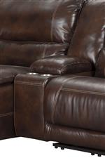 Storage compartment in sectional