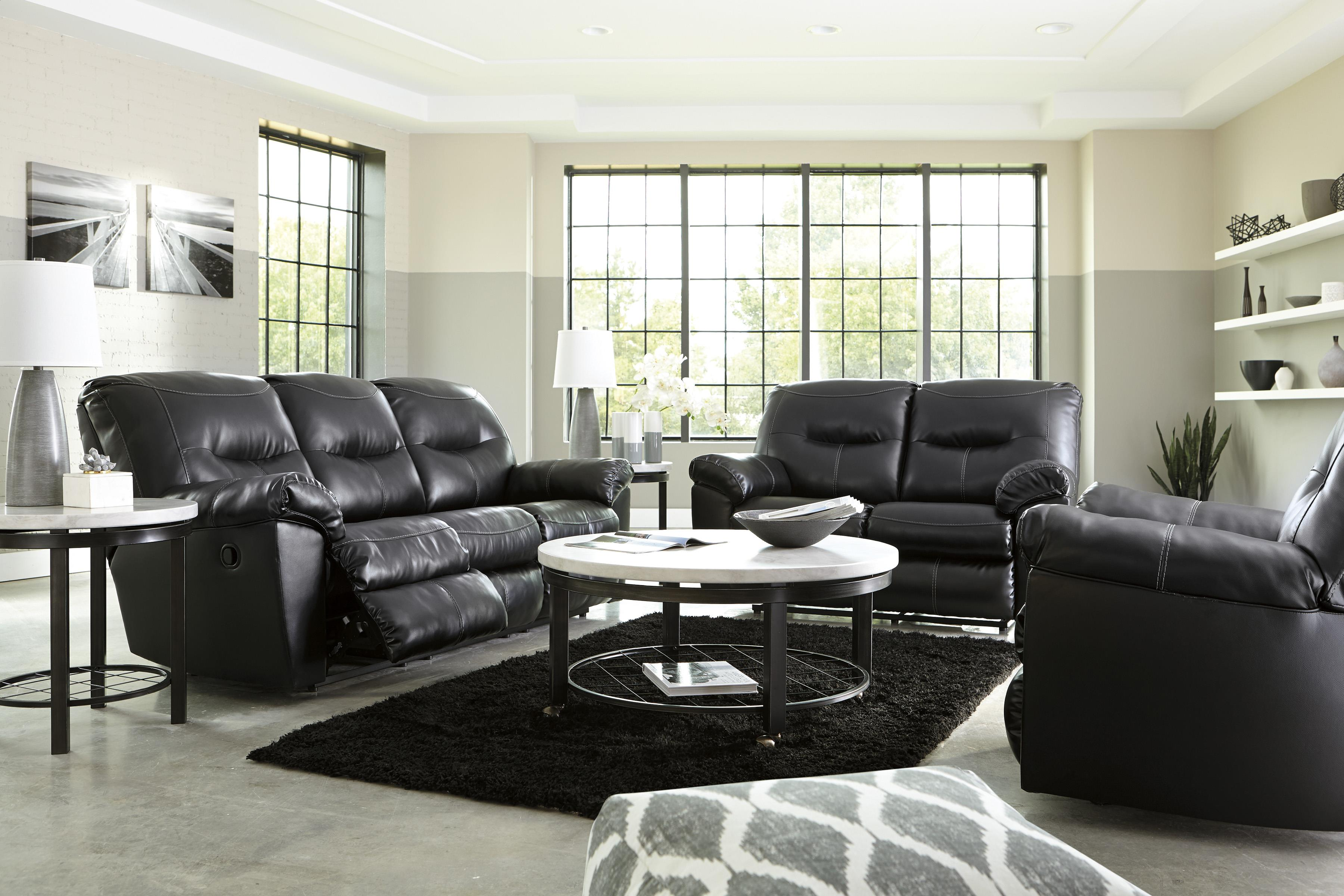 Delicieux Signature Design By Ashley Kilzer DuraBlend® Reclining Living Room Group    Item Number: 84701