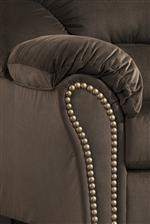 Pillow Arms with Nailhead Trim