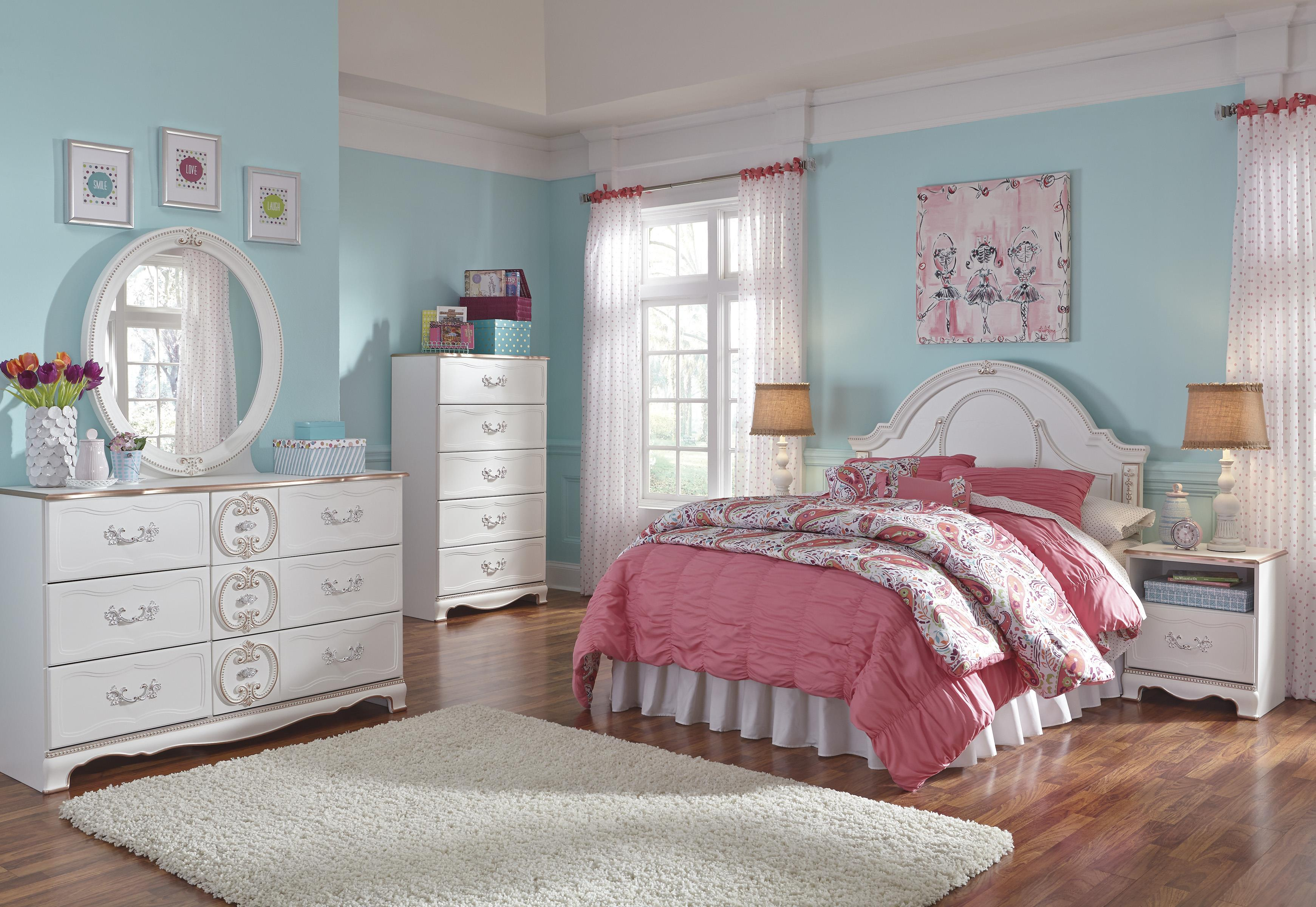 Signature Design by Ashley Korabella Full Bedroom Group - Item Number: B355 F Bedroom Group 2