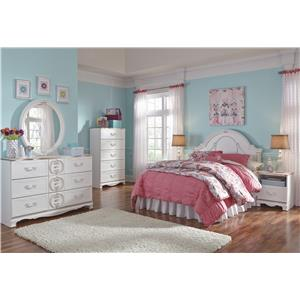 Signature Design by Ashley Korabella Full Bedroom Group