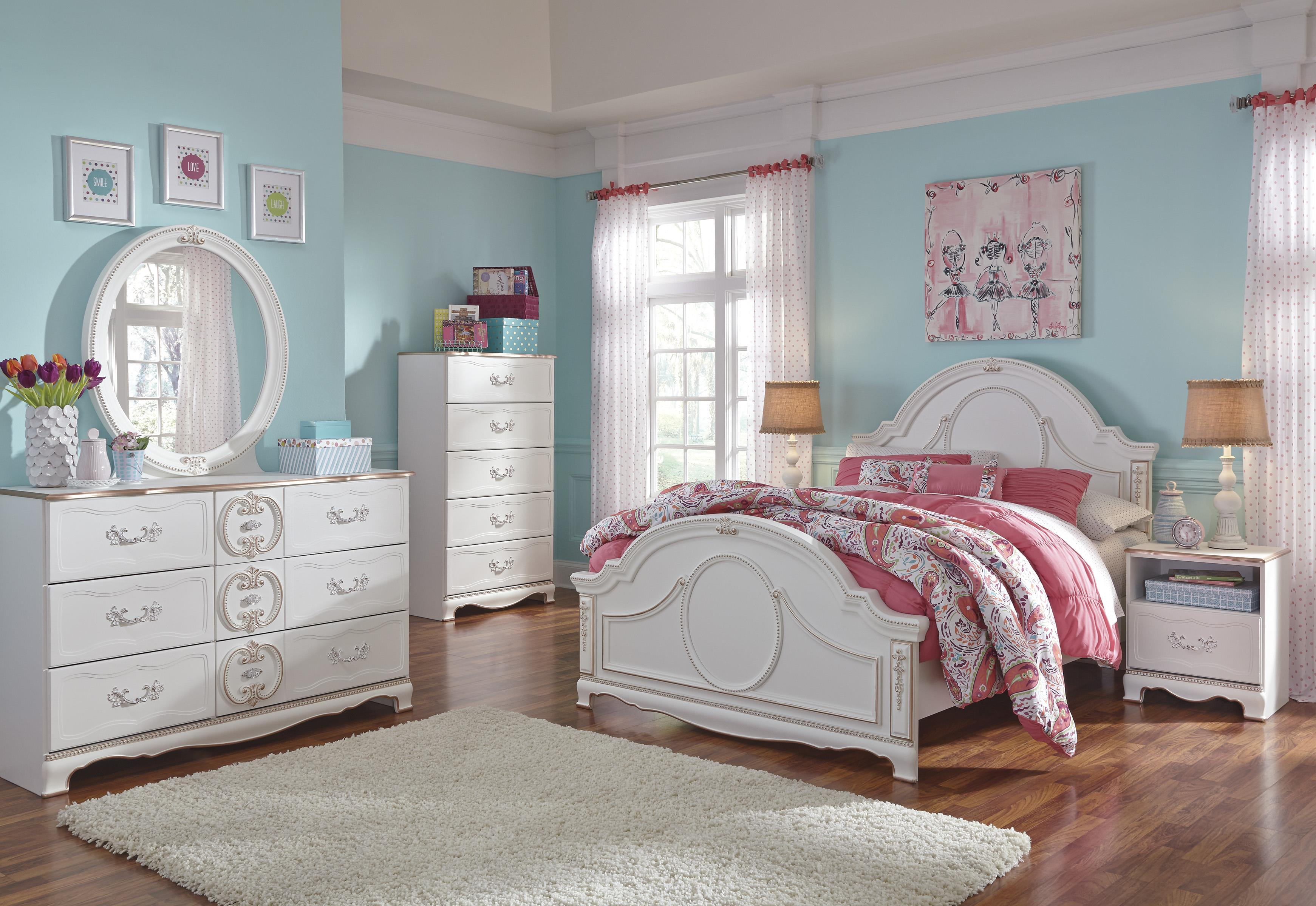 Signature Design by Ashley Korabella Full Bedroom Group - Item Number: B355 F Bedroom Group 1
