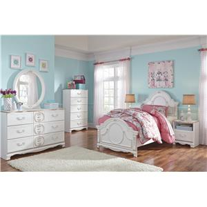 Signature Design by Ashley Korabella Twin Bedroom Group
