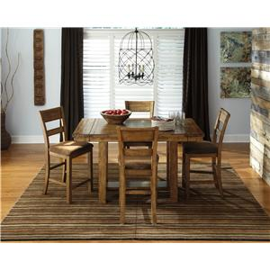 Signature Design by Ashley Krinden 5-Piece Counter Extension Table Set