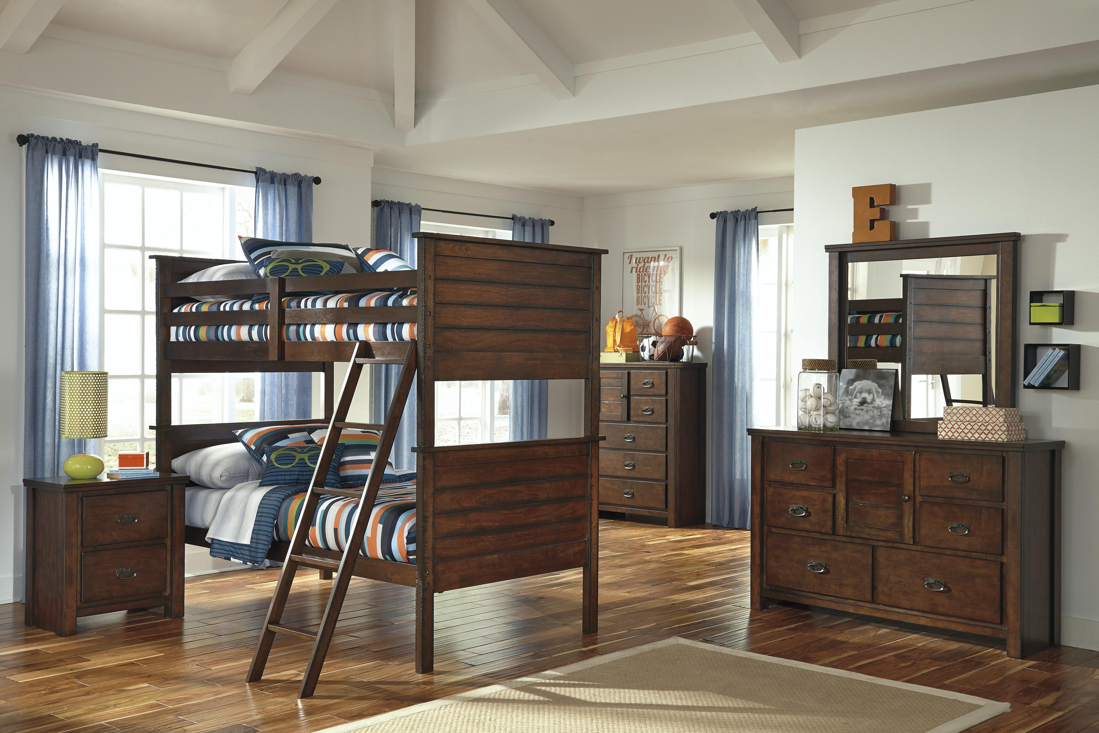 Signature Design by Ashley Ladiville Twin/Twin Bedroom Group - Item Number: B567 T Bedroom Group 2