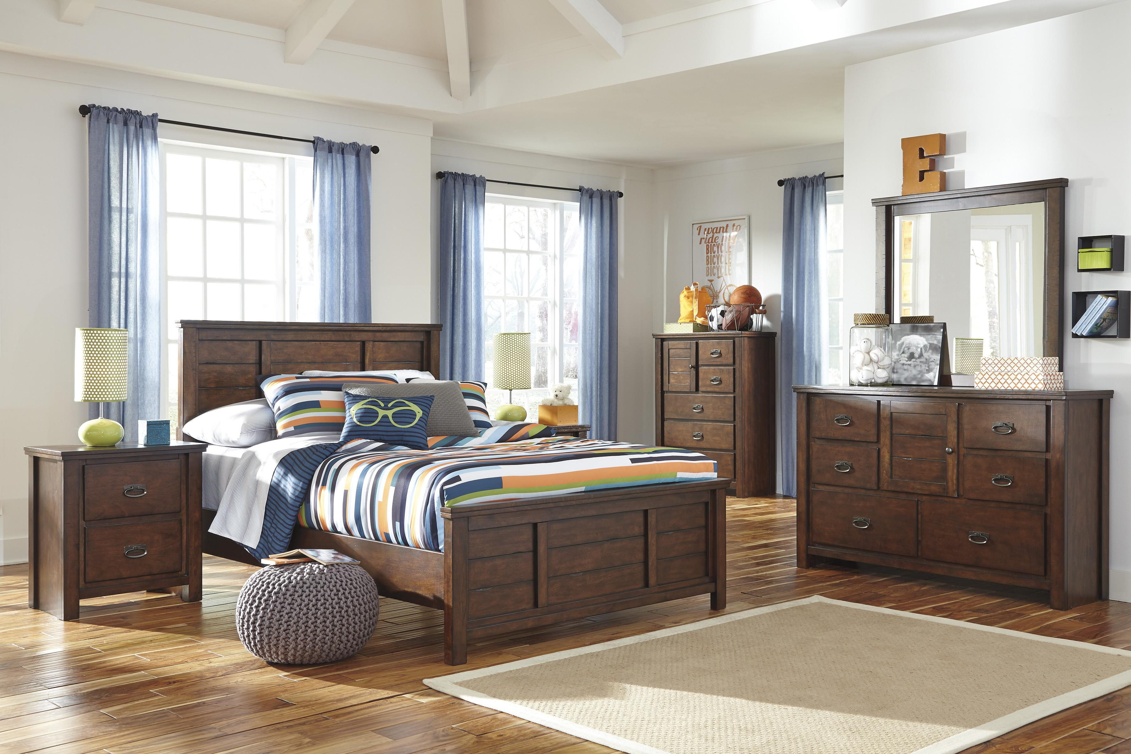 Signature Design by Ashley Ladiville Full Bedroom Group - Item Number: B567 F Bedroom Group 1