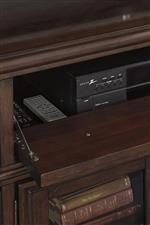Drop Front Door on TV Stand