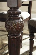 Ornate Turned Legs on Table and Chairs
