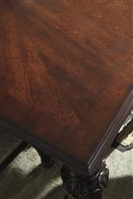 Book-match Veneer Table Top
