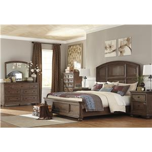 Signature Design by Ashley Maeleen Transitional Dresser with Jewelry Tray & Bedroom Mirror