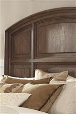 Arched Panel Headboard with Framed Panels
