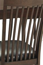 Mission Thin Slat-Back Chair