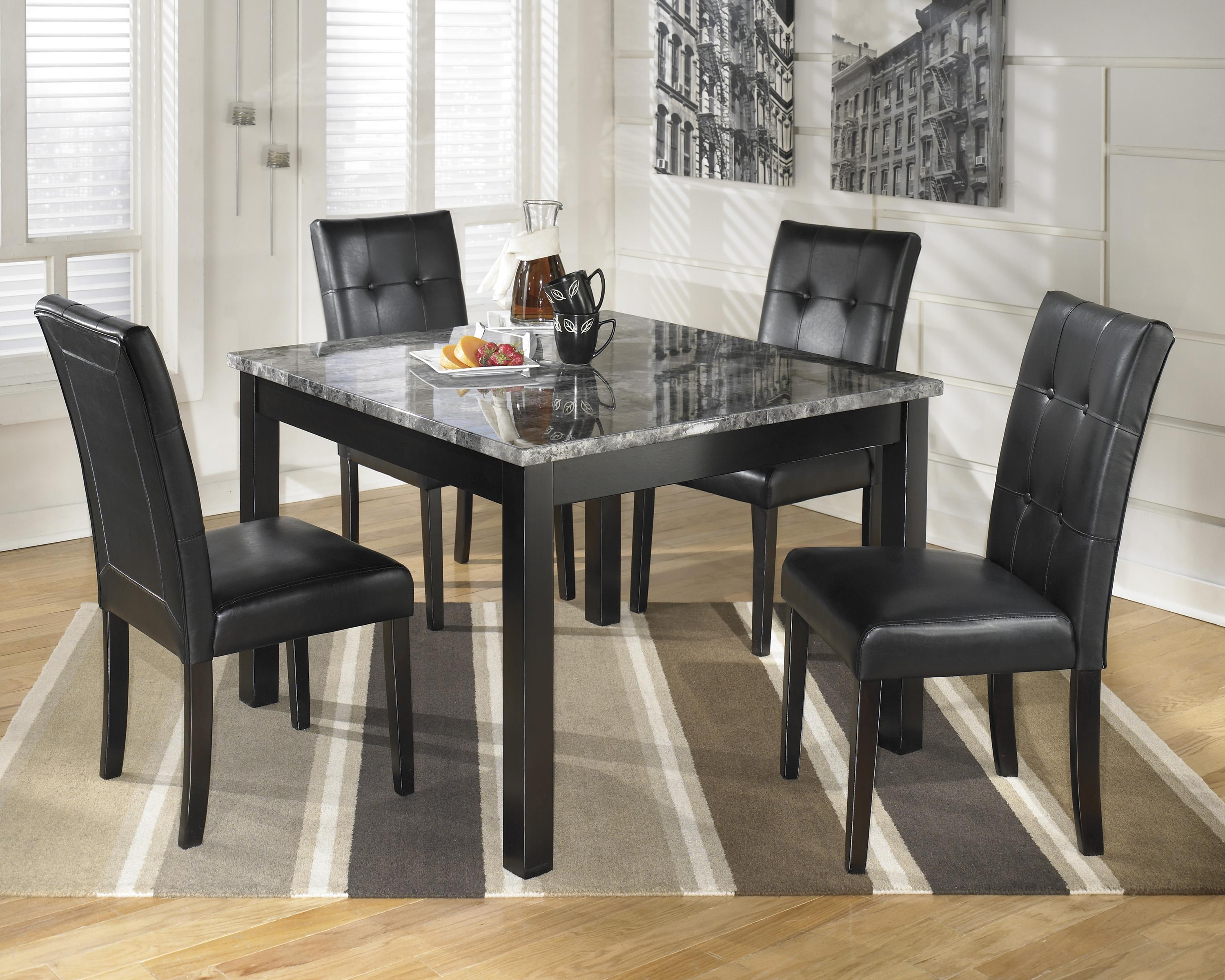 Ashley dining room furniture - Signature Design By Ashley Furniture Maysville Square Dining Room Table Set Item Number D154