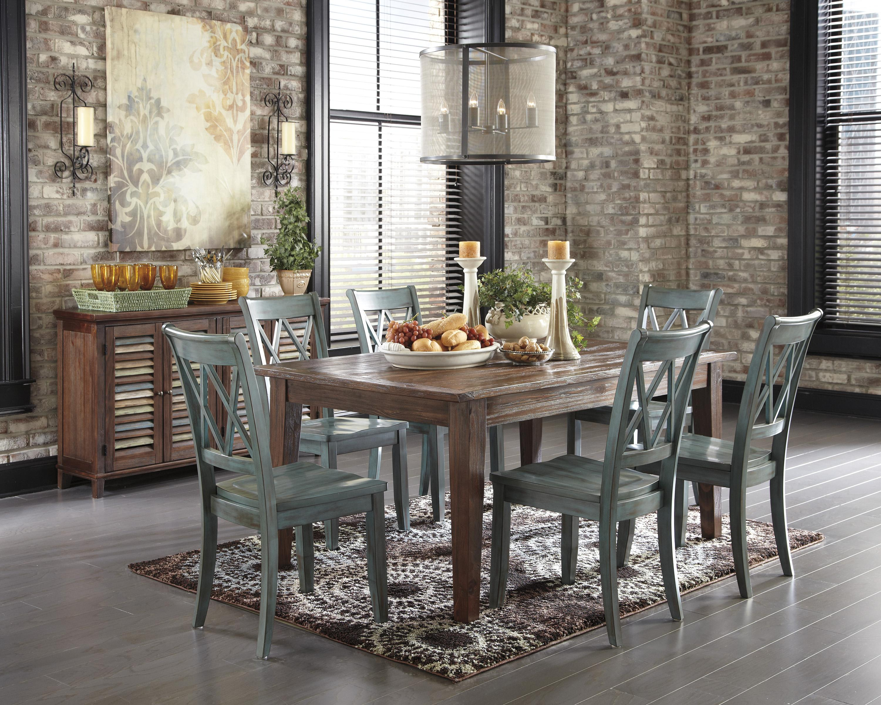 Signature Design by Ashley Mestler Casual Dining Room Group - Item Number: D540 Dining Room Group 1