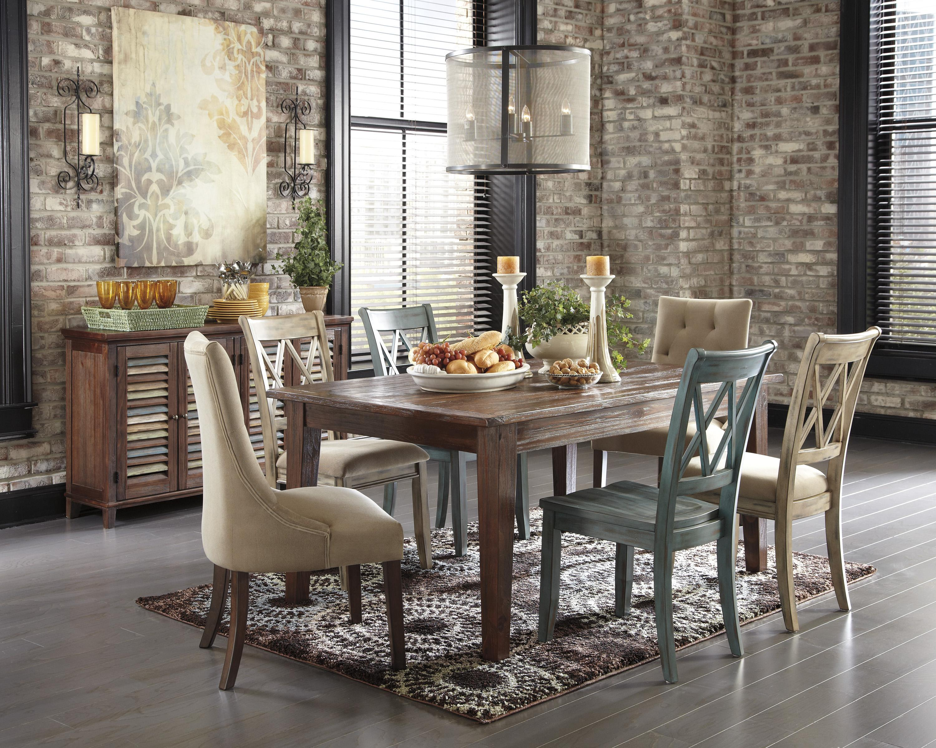 Signature Design by Ashley Mestler Casual Dining Room Group - Item Number: D540 Dining Room Group 2