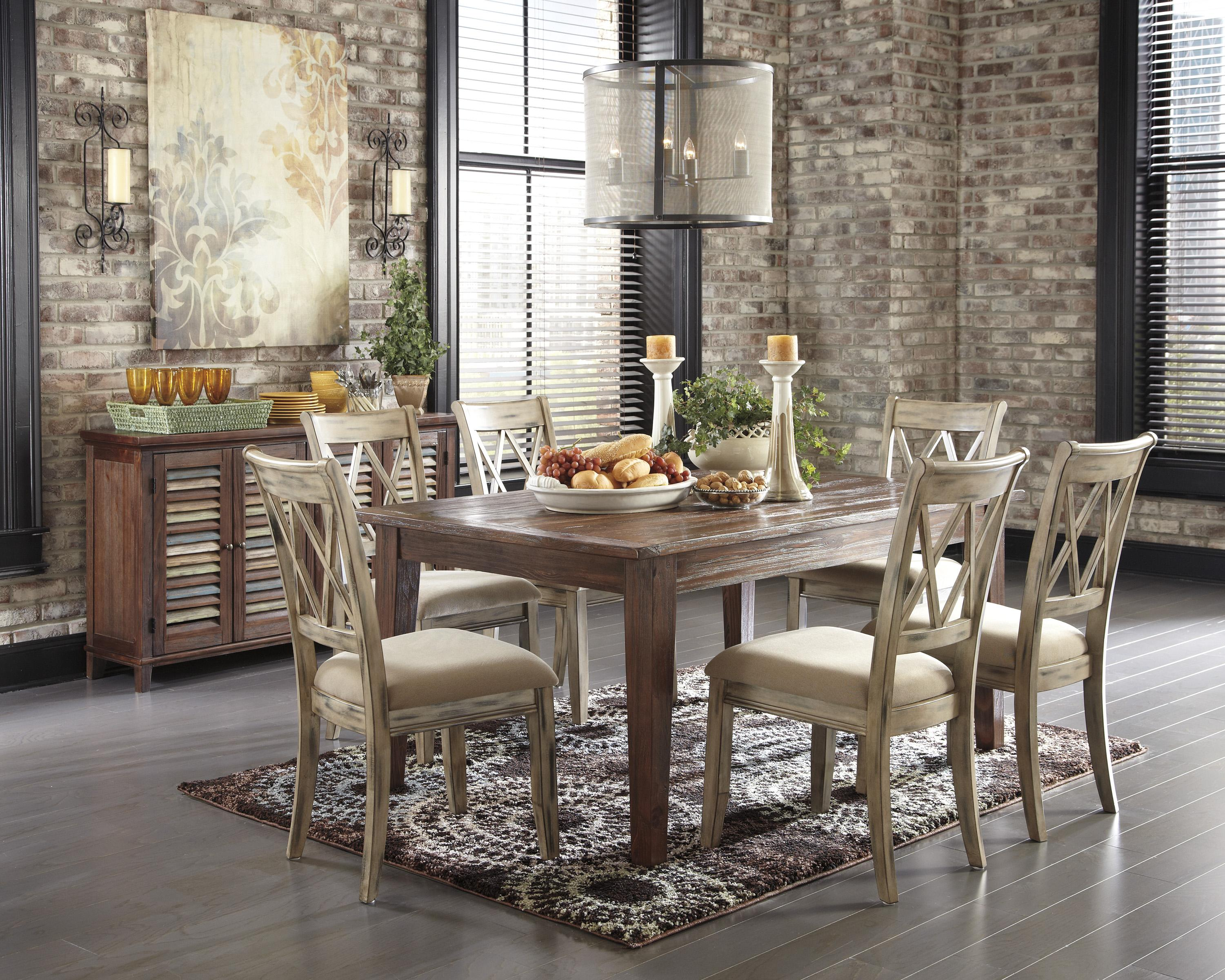 Signature Design by Ashley Mestler Casual Dining Room Group - Item Number: D540 Dining Room Group 3