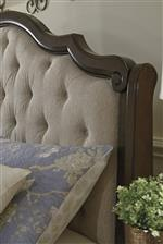 Upholstered Sleigh Headboard
