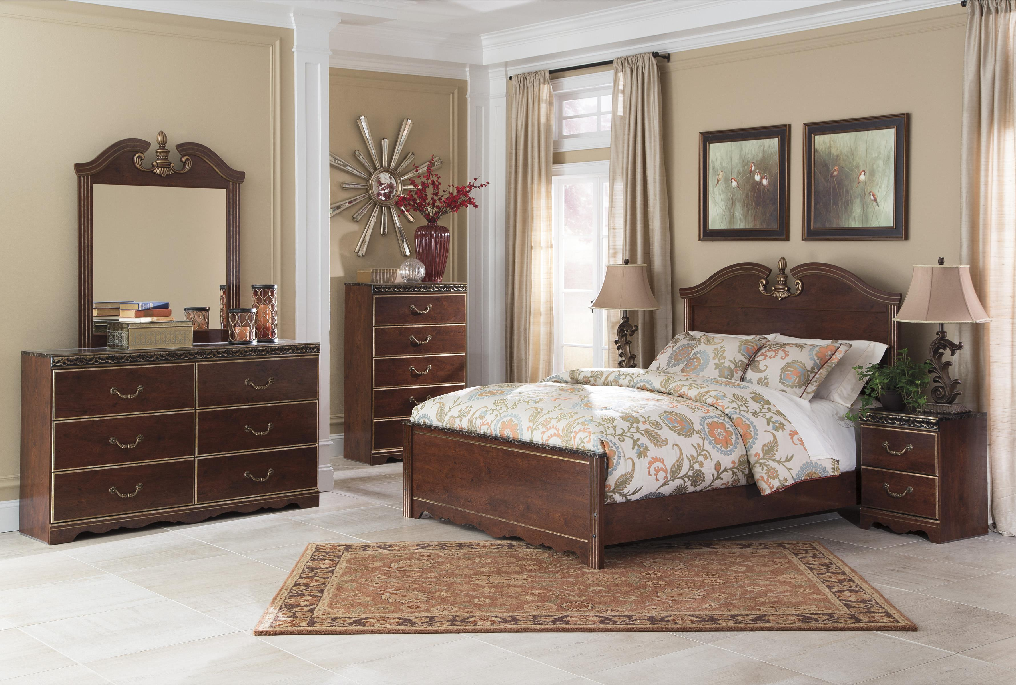 Signature Design by Ashley Naralyn Queen Bedroom Group - Item Number: B164 Q Bedroom Group 1