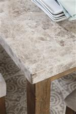 Light Faux Marble Table Top