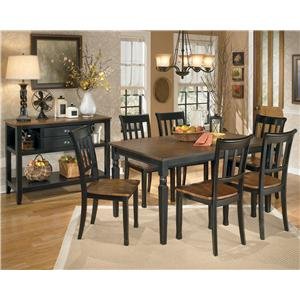 Signature Design by Ashley Owingsville Casual Dining Room Group
