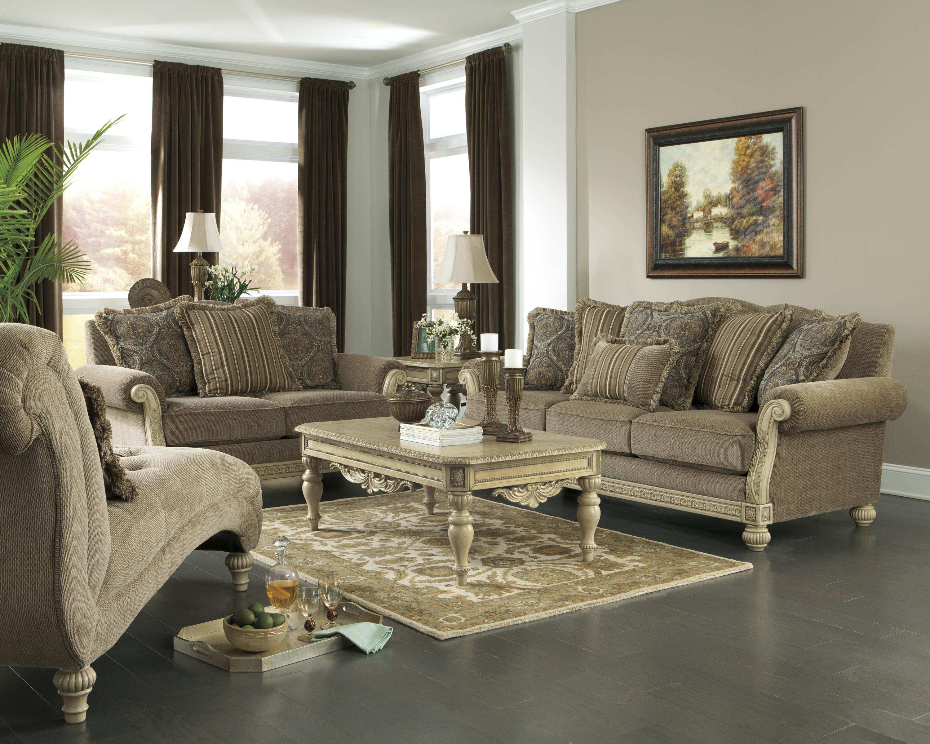 Signature design by ashley parkington bay platinum tufted chaise w exposed legs bigfurniturewebsite chaise