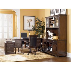 Signature Design by Ashley Porter Storage Leg Desk