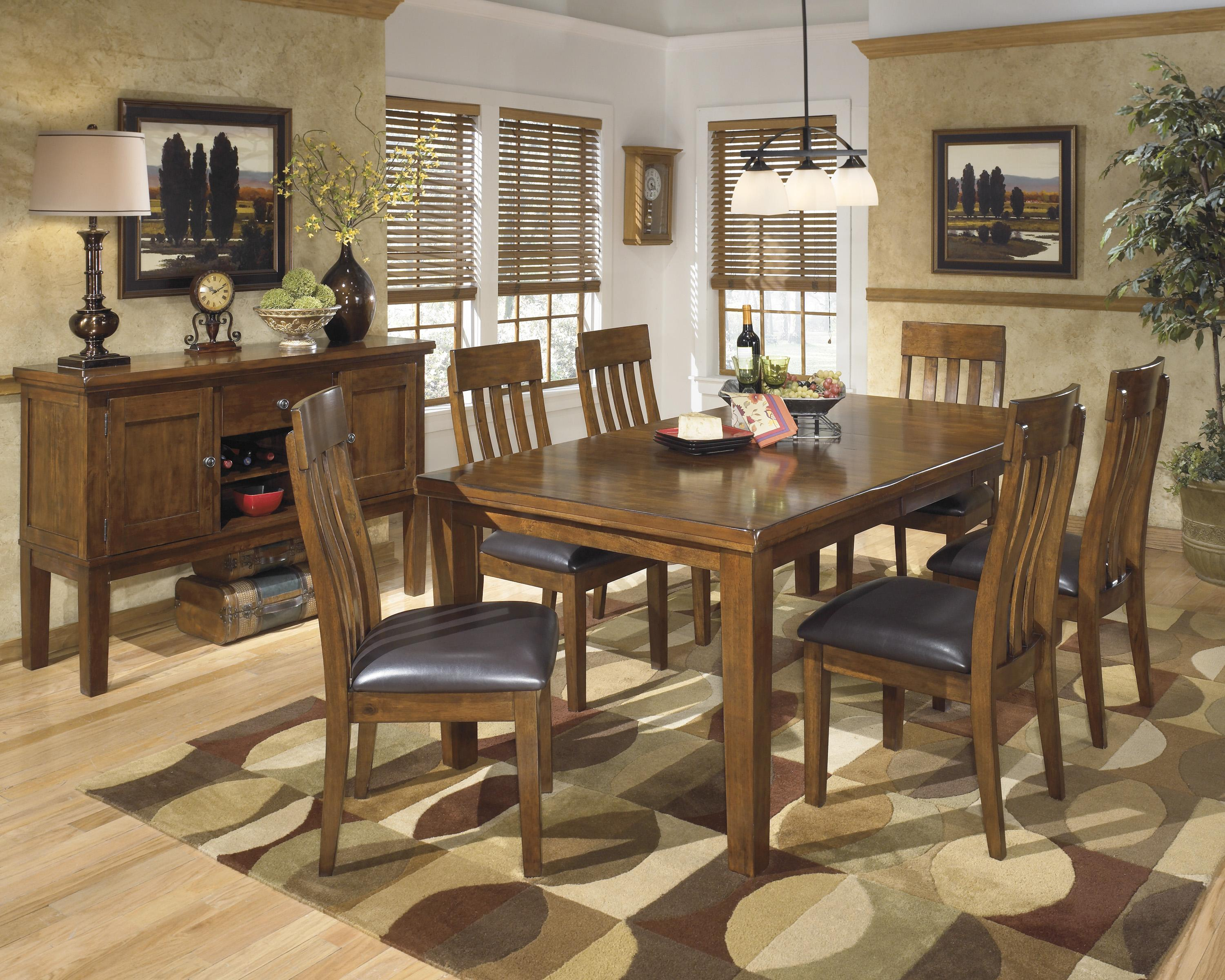 Signature Design by Ashley Ralene Casual Dining Room Group - Item Number: D594 Dining Room Group 2