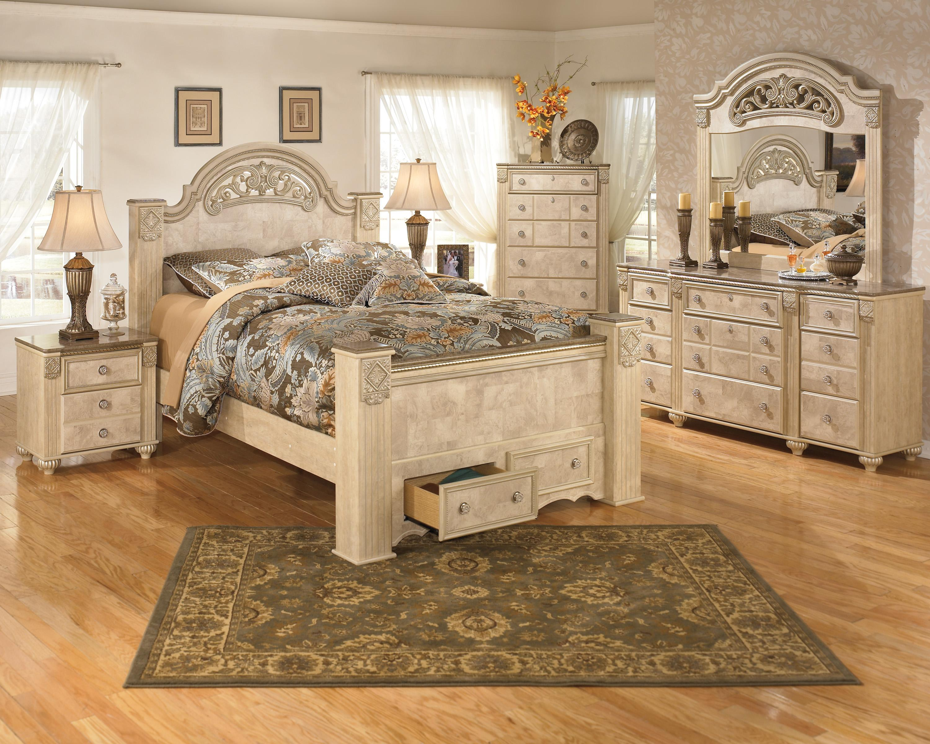 Signature Design by Ashley Saveaha King Bedroom Group - Item Number: B346 K Bedroom Group 2