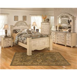 Signature Design by Ashley Saveaha King Bedroom Group
