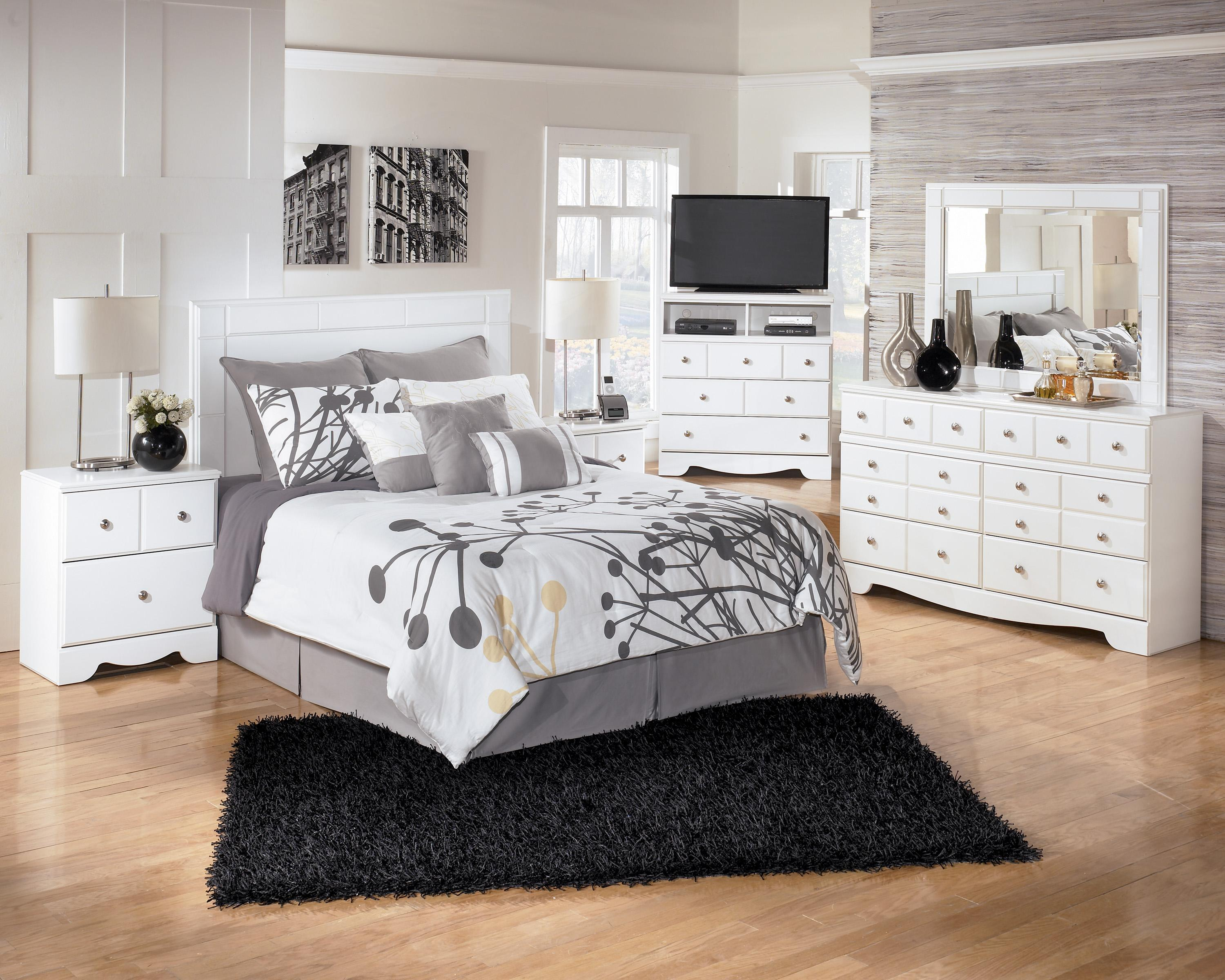 bedroom with dressers furniture dresser ashley color by white mirror prentice