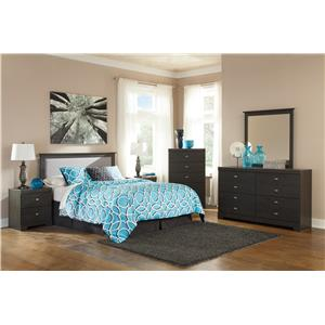 Signature Design by Ashley Shylyn Queen/Full Bedroom Group