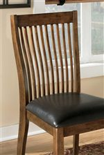 Bench Comb Back Chair Design