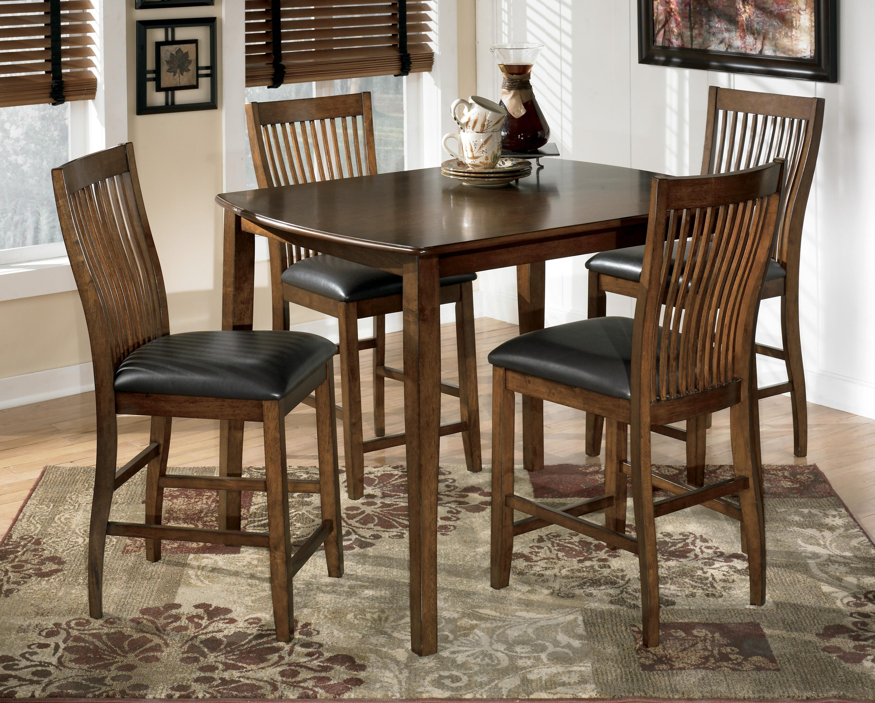 Signature Design by Ashley Stuman 5-Piece Rectangular Dining Room ...