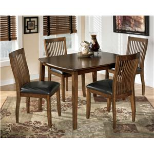 Signature Design by Ashley Stuman 5-Piece Rectangular Dining Room Table Set
