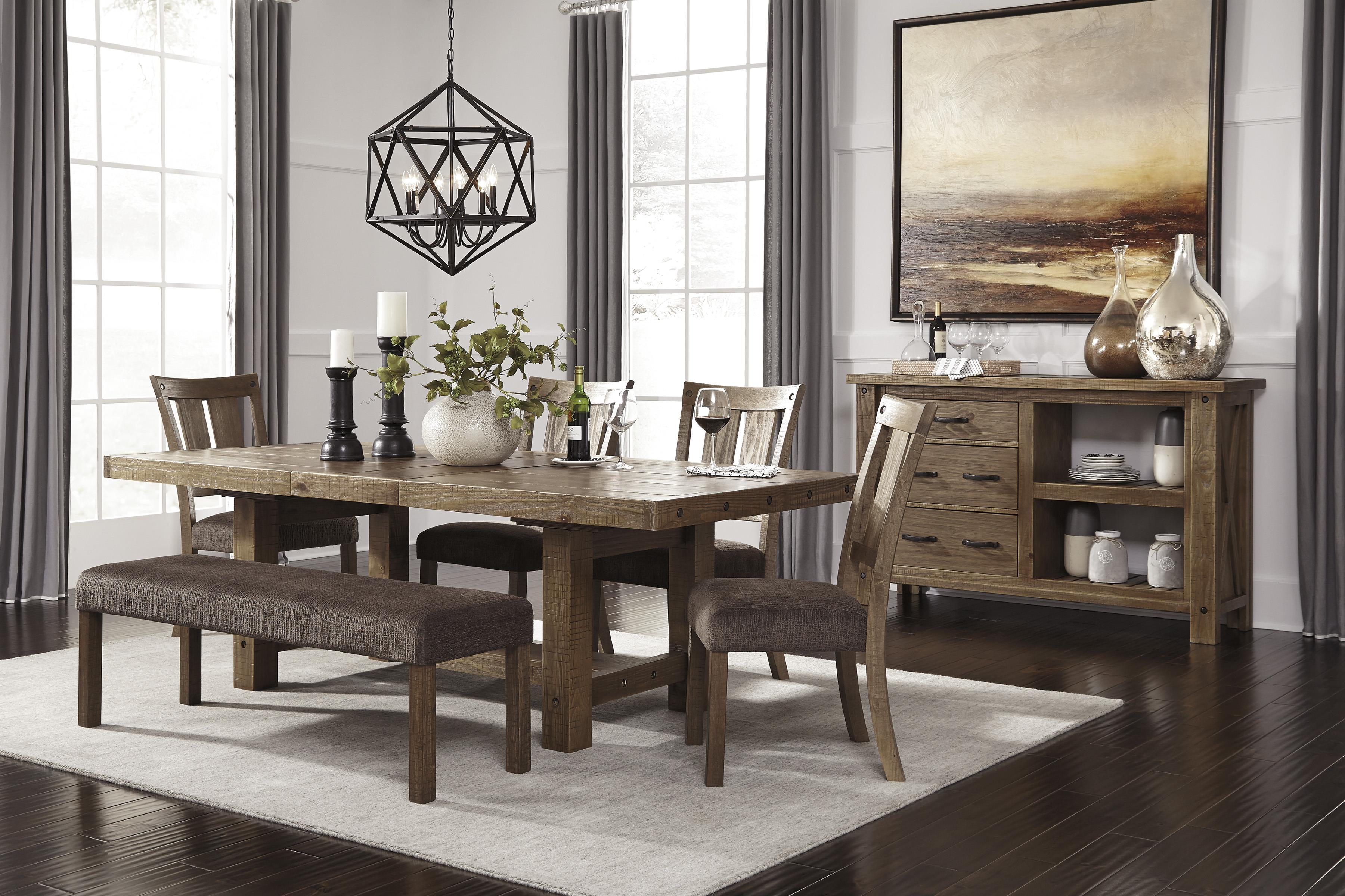 ashley dining room sets. Signature Design by Ashley Tamilo Rectangle Counter Height Table with Leaf  Wayside Furniture Pub Tables