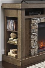 Rustic Design with Faux Stone